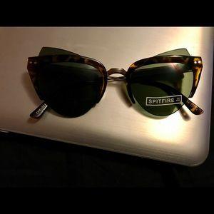 Spitfire cat eye sunglasses